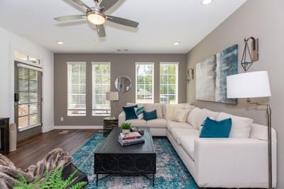 Crawford Home Design Atlanta, GA New Home Family Rooms