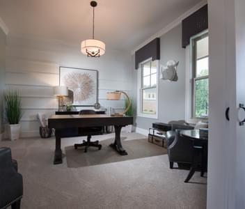 Mathews Home Design Atlanta, GA New Home Home Offices