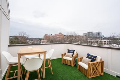The Views on Ponce Atlanta, GA New Home Exteriors