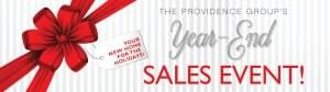 The Providence Group Announces Year End Sales Event