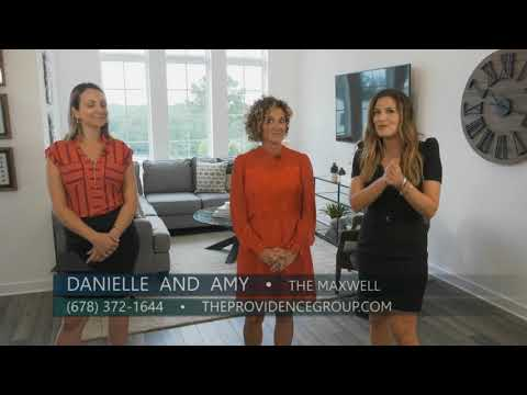 Walkable Living in Downtown Alpharetta at The Maxwell Townhome Community Video