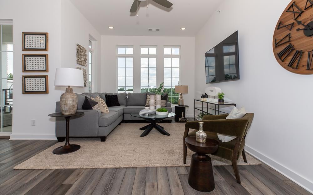 Fortman Home Design Family Room. Alpharetta, GA New Home