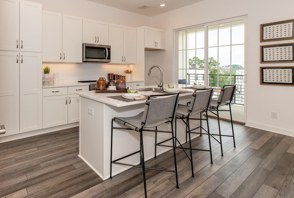 Fortman Home Design Kitchen. New Home in Alpharetta, GA
