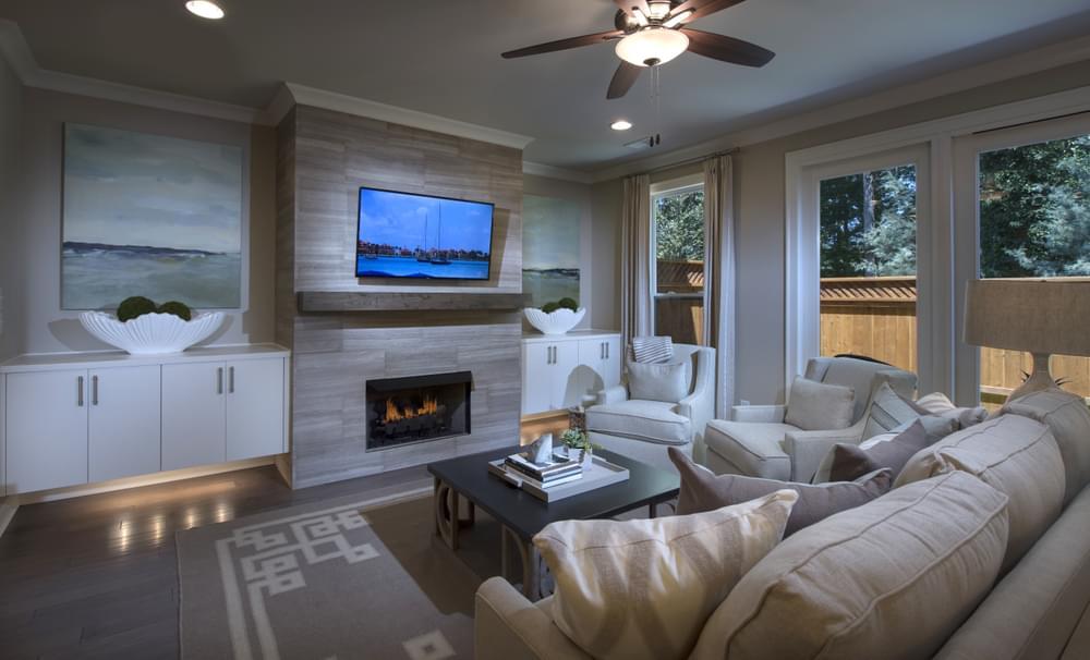 Braxton II Home Design. 2,141sf New Home in Duluth, GA