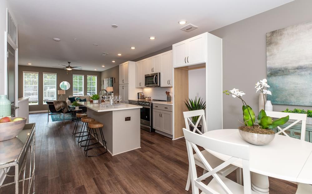 Crawford Home Design KItchen. New Home in Alpharetta, GA