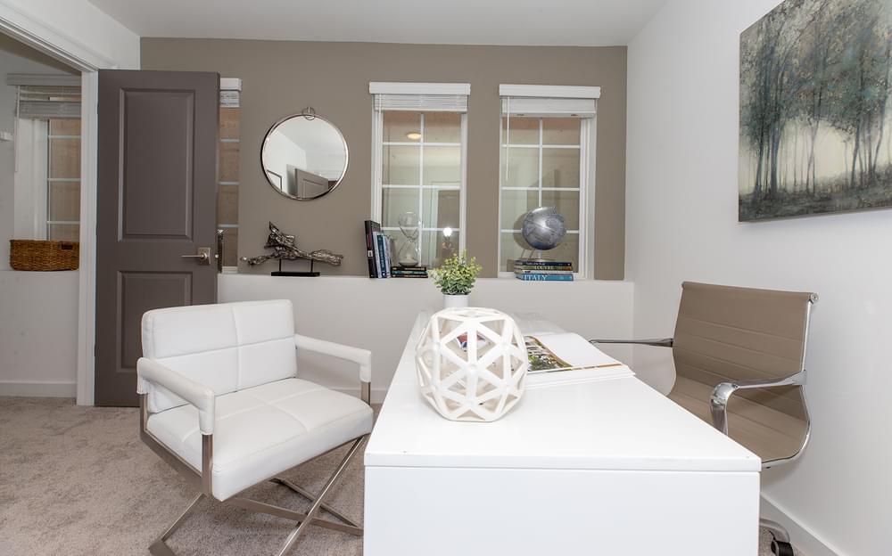 Crawford Home Design Home Office. 2br New Home in Alpharetta, GA