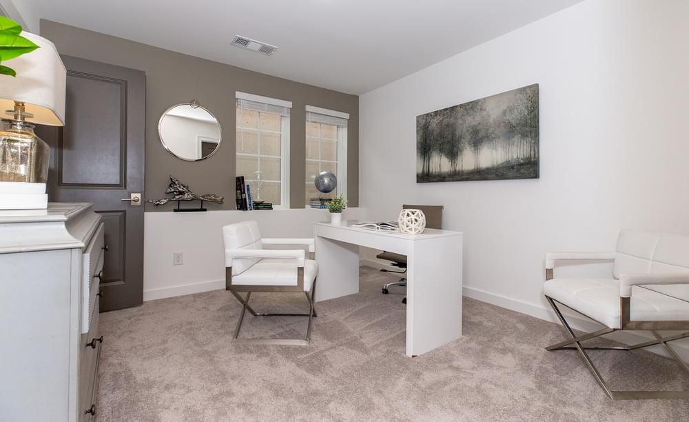 Crawford Home Design Home Office. New Home in Alpharetta, GA
