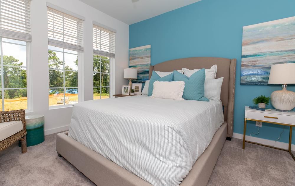 Crawford Home Design Owner's Suite. 1,490sf New Home in Alpharetta, GA