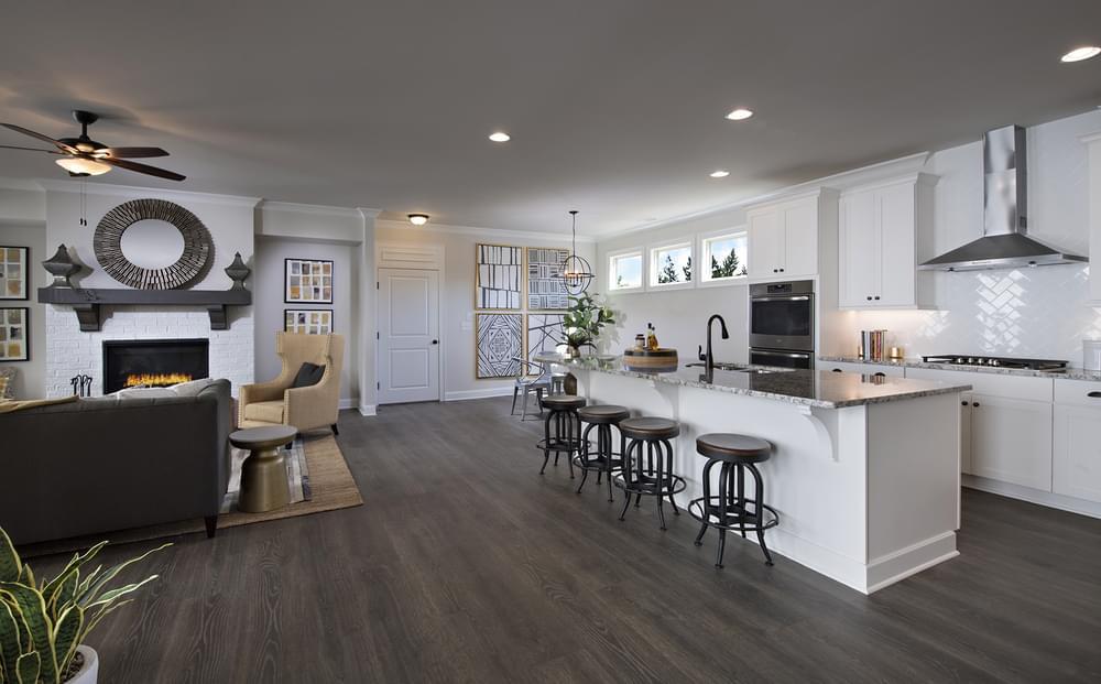 Crestwick Home Design Kitchen. 2,866sf New Home in Johns Creek, GA