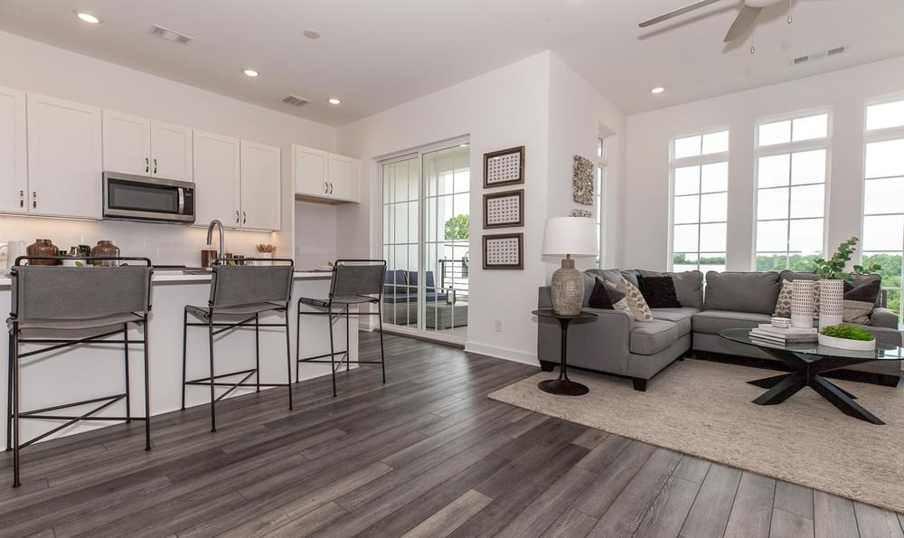 Fortman Home Design Kitchen and Family Room. 1br New Home in Alpharetta, GA