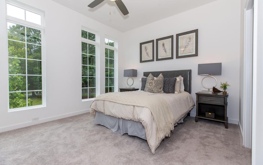 Fortman Home Design Owner's Suite. The Fortman New Home in Alpharetta, GA