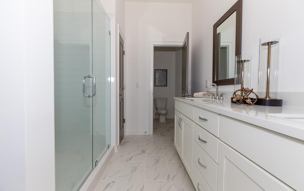 Fortman Home Design Owner's Bath. 1br New Home in Alpharetta, GA