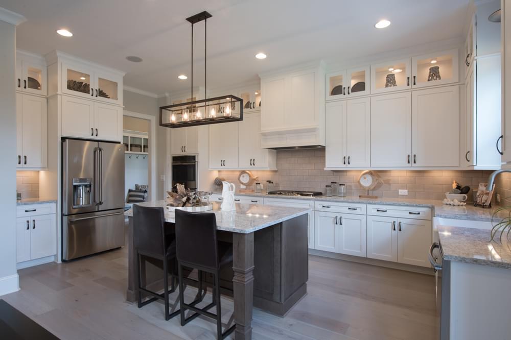 Mathews Home Design Kitchen. New Home in Johns Creek, GA