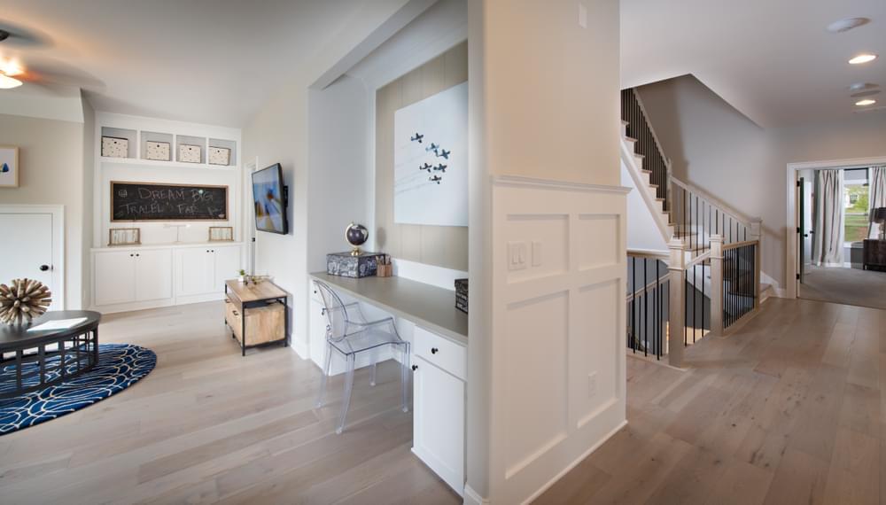 Mathews Home Design Optional 2nd Floor Layout. New Home in Johns Creek, GA