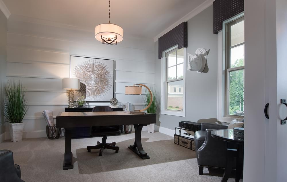 Mathews Home Design Home Office. 4br New Home in Johns Creek, GA