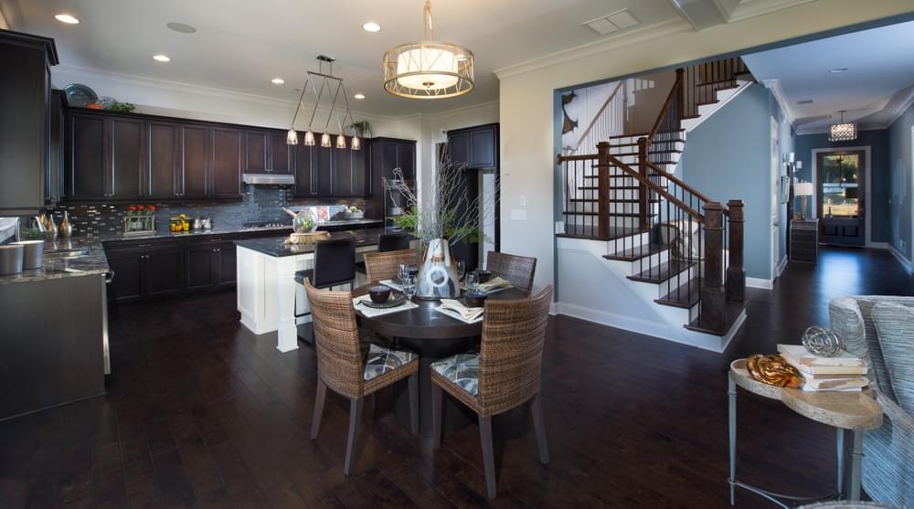 Montgomery Home Design Kitchen. The Montgomery New Home in Johns Creek, GA