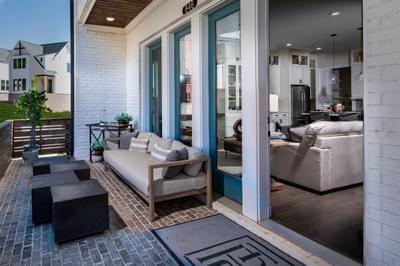 The Pierce Home Design Atlanta, GA New Home Amenities & Outdoor Living