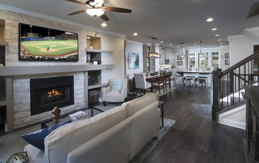 Foster Home Design Family Room . New Home in Smyrna, GA