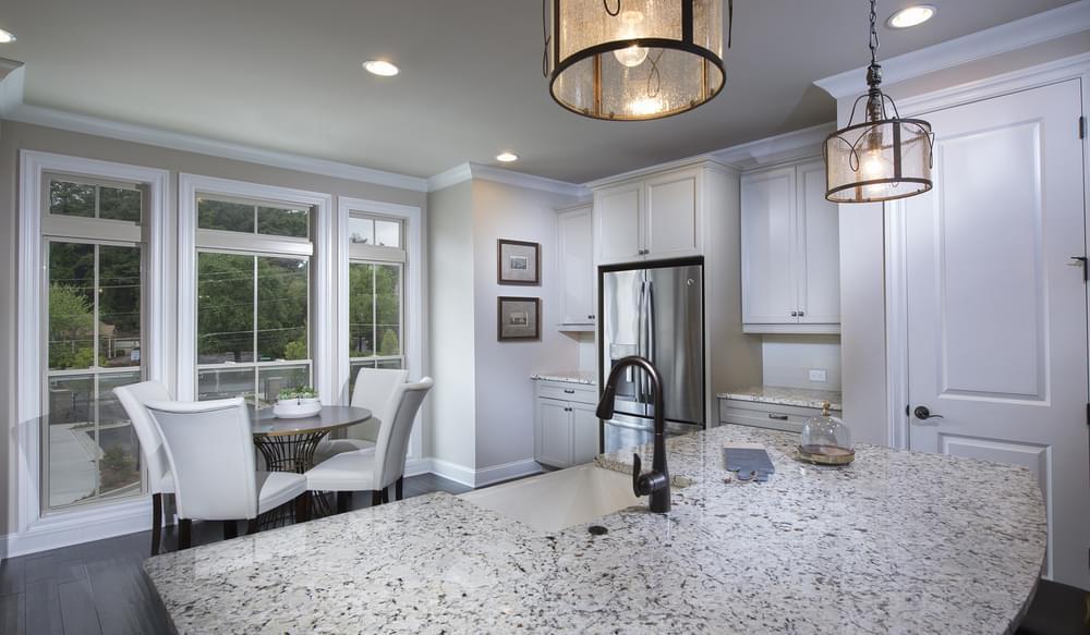Foster Home Design Kitchen. New Home in Smyrna, GA