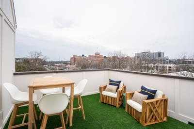 The Views on Ponce Rooftop Terrace Atlanta, GA New Home Amenities & Outdoor Living