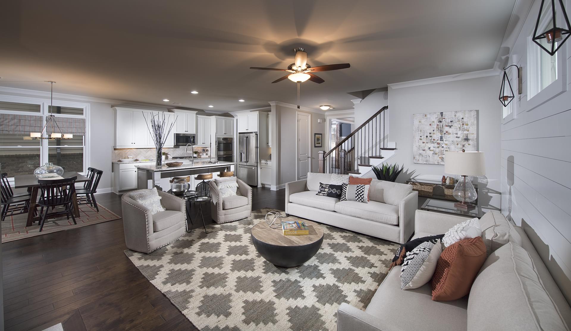The Raleigh New Home in Alpharetta GA