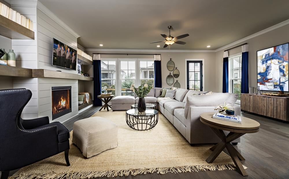 Sterling Home Design Dining Room. Alpharetta, GA New Home