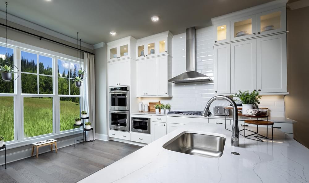 Sterling Home Design Kitchen. 3br New Home in Alpharetta, GA