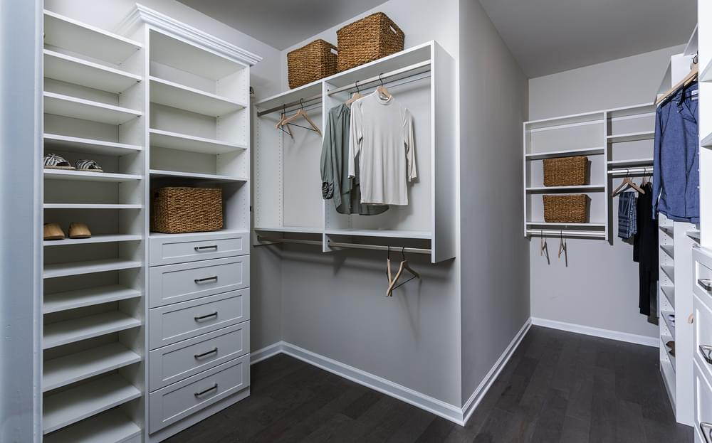 Sterling Home Design Owner's Closet. New Home in Alpharetta, GA