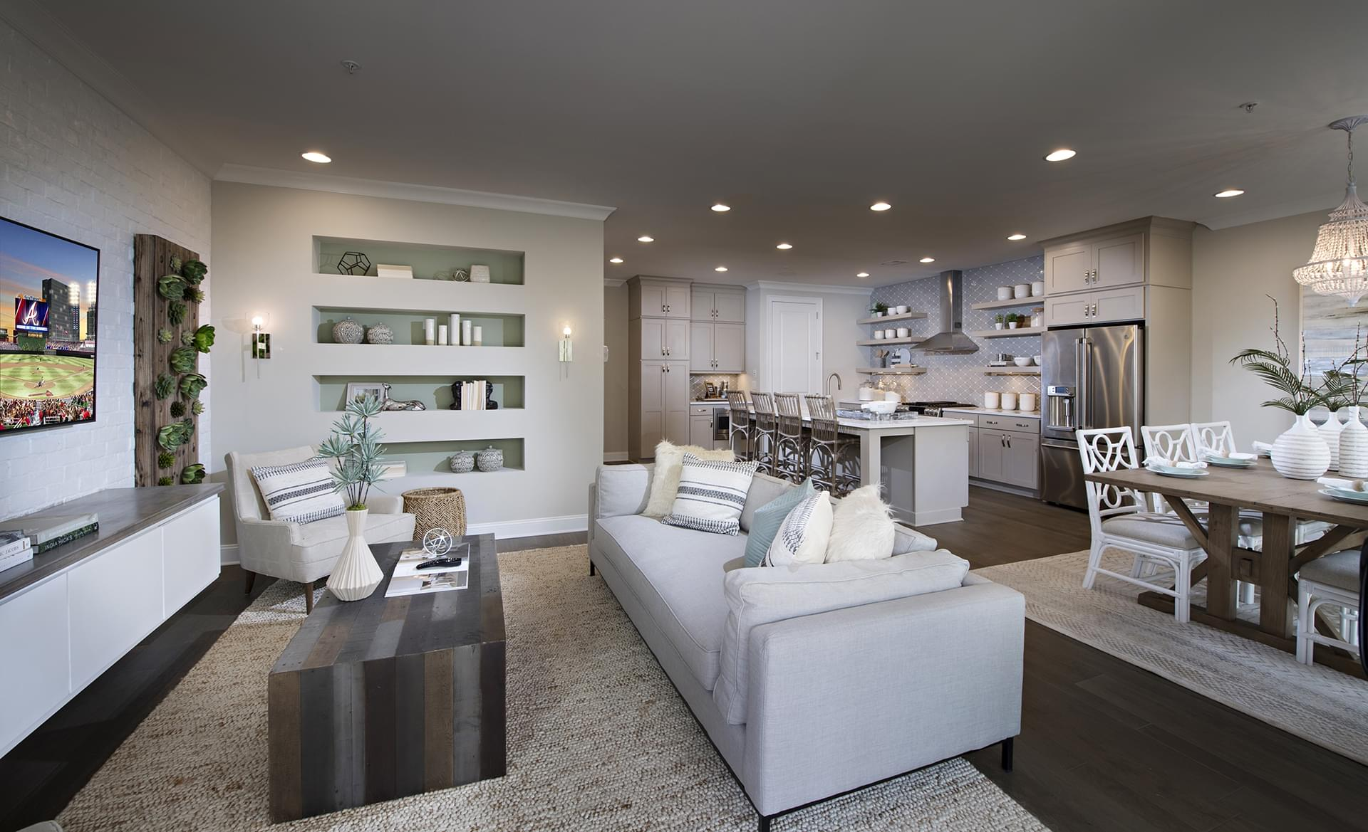 The Stockton New Home in Suwanee GA