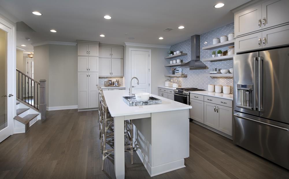 Stockton Home Design Kitchen. The Stockton New Home in Suwanee, GA