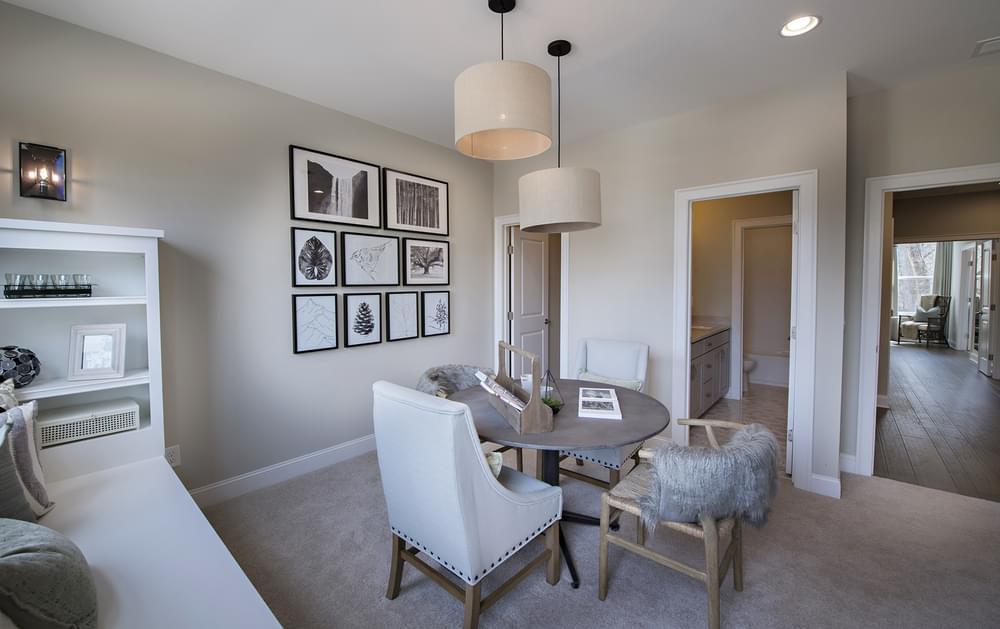 Stockton Home Design Home Office or Bedroom. New Home in Suwanee, GA