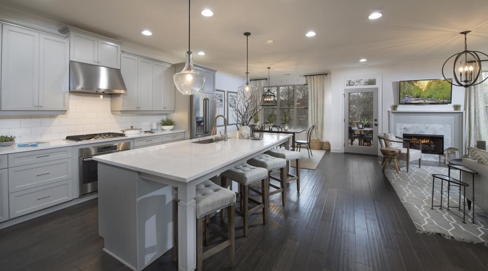Stockton Home Design Kitchen. 3br New Home in Suwanee, GA
