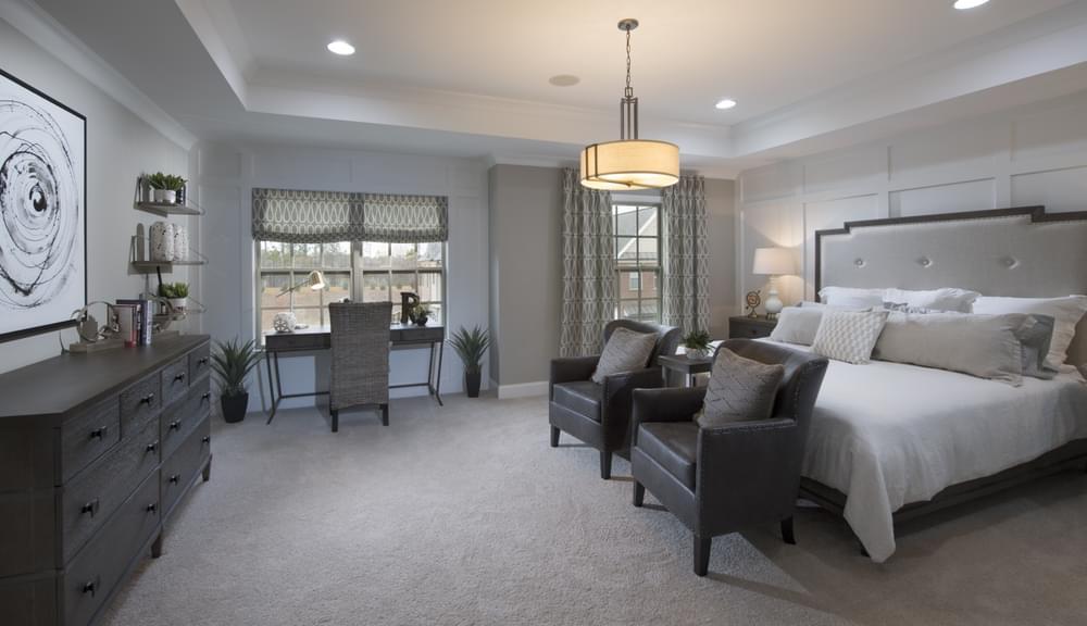 Stockton Home Design Owner's Suite. The Stockton New Home in Suwanee, GA