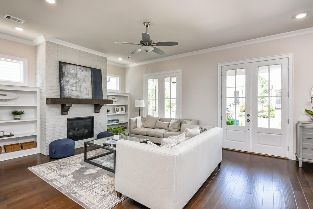 Weatherby Home Design Family Room. 3br New Home in Canton, GA
