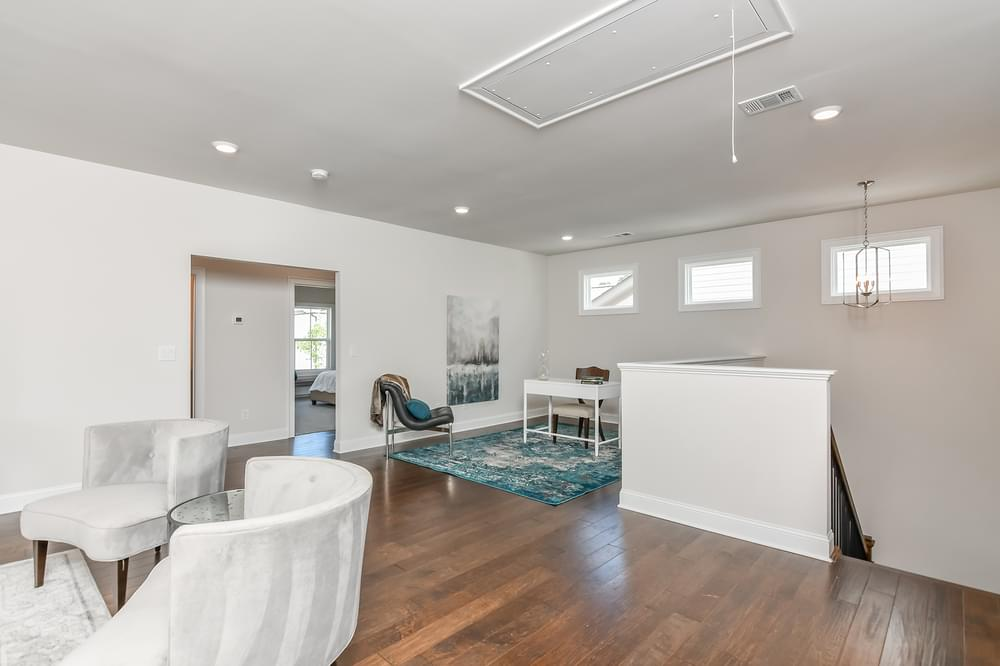 Weatherby Bonus Room and Loft. The Weatherby New Home in Canton, GA