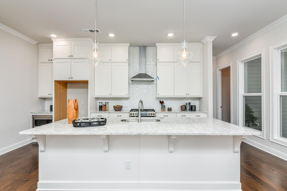 Weatherby Home Design Kitchen. New Home in Canton, GA