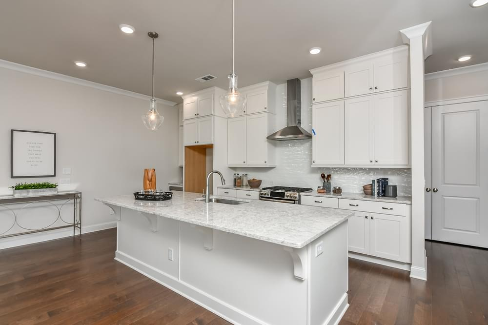 Weatherby Home Design Kitchen. 2,970sf New Home in Canton, GA