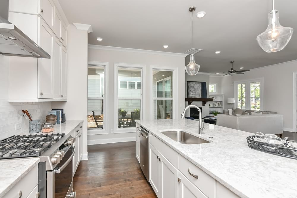 Weatherby Home Design Kitchen. Canton, GA New Home