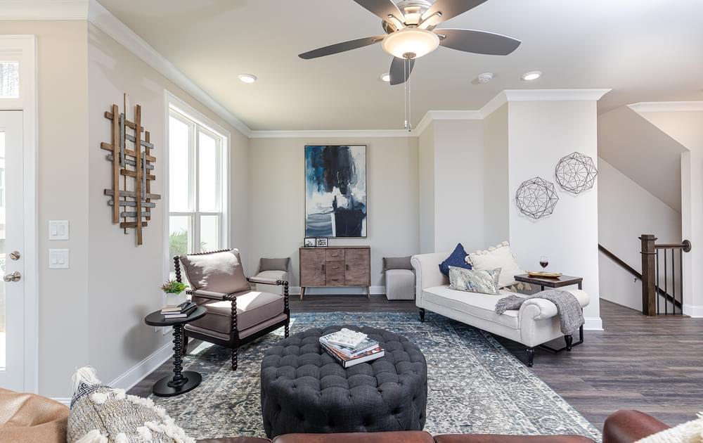 Graham Home Design Family Room. Suwanee, GA New Home