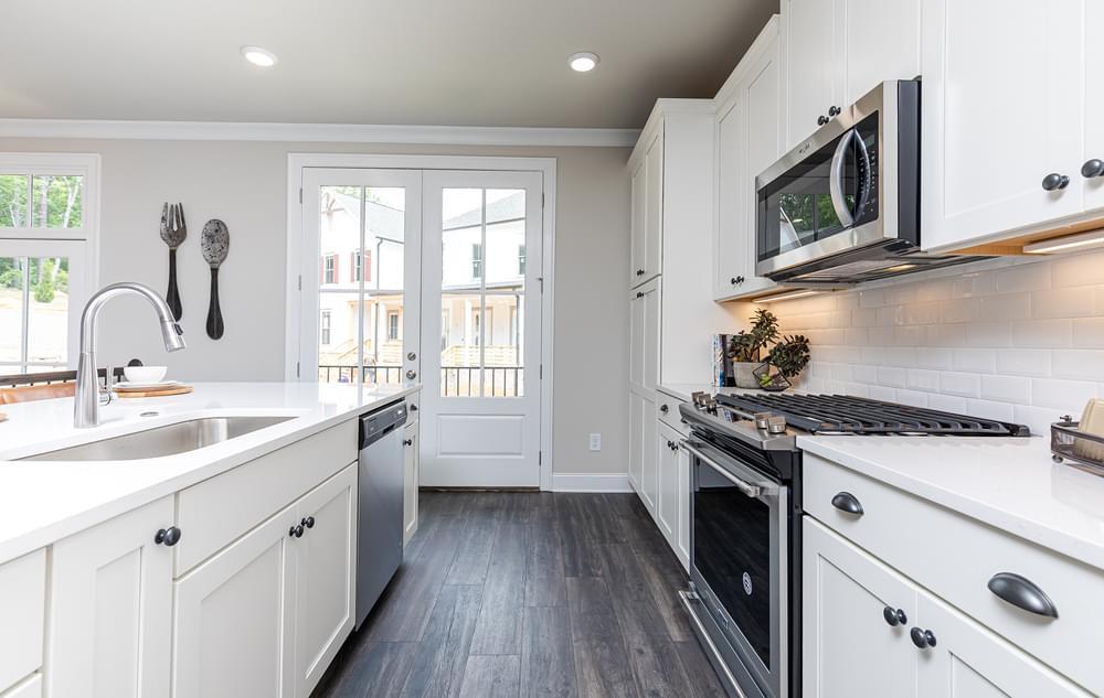 Graham Home Design Kitchen. Suwanee, GA New Home