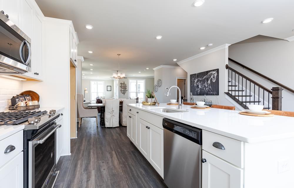 Graham Home Design Kitchen. New Home in Suwanee, GA