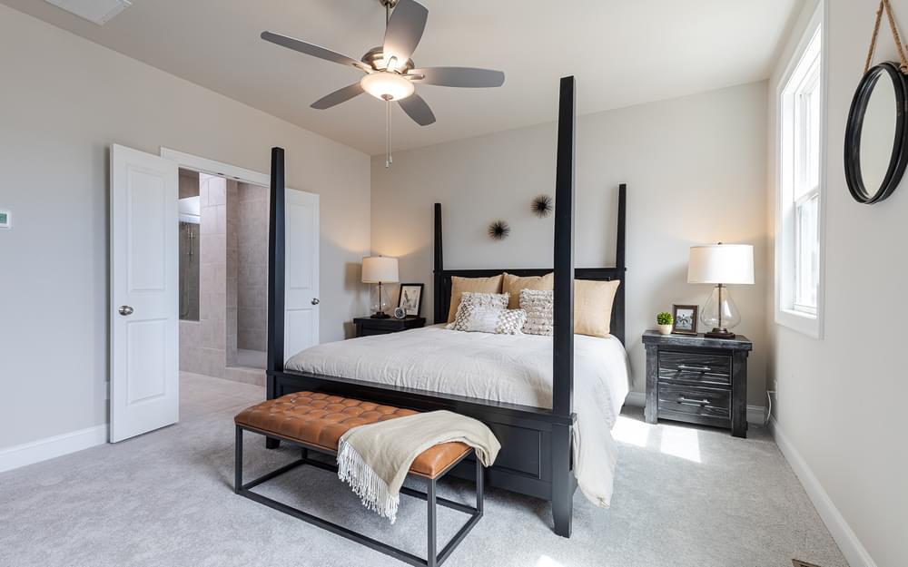 Graham Home Design Owner's Suite. Suwanee, GA New Home