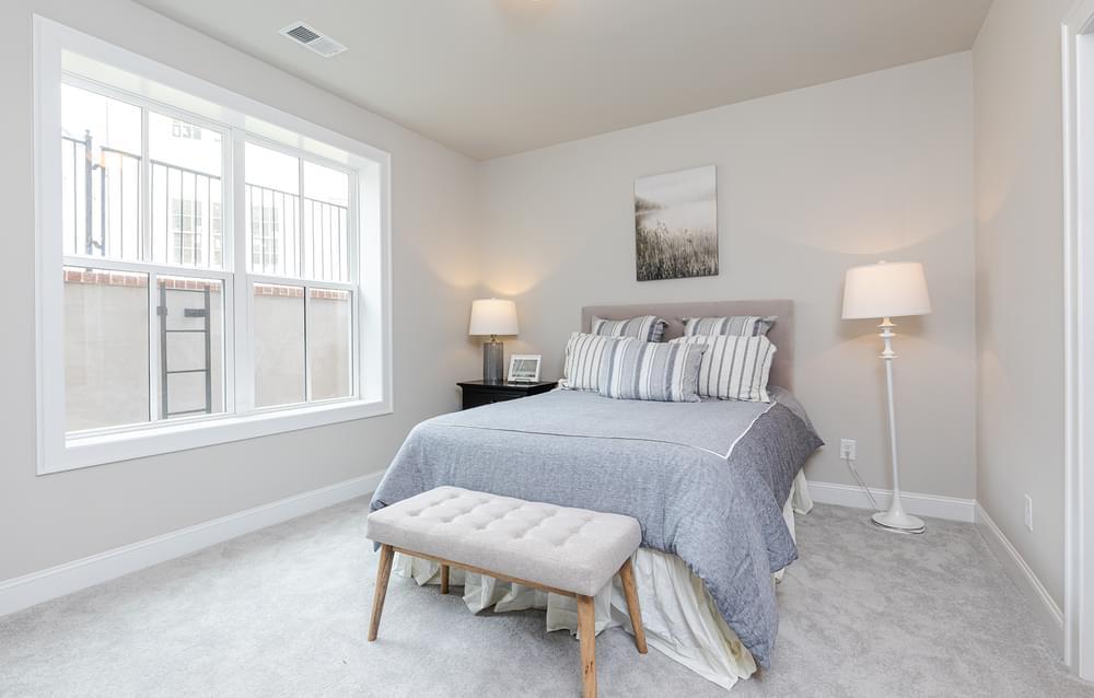 Graham Home Design Secondary Bedroom. 2br New Home in Suwanee, GA