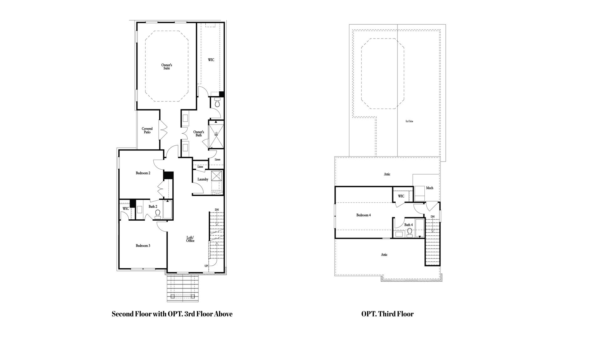 Optional 3rd Floor. New Home in Suwanee, GA