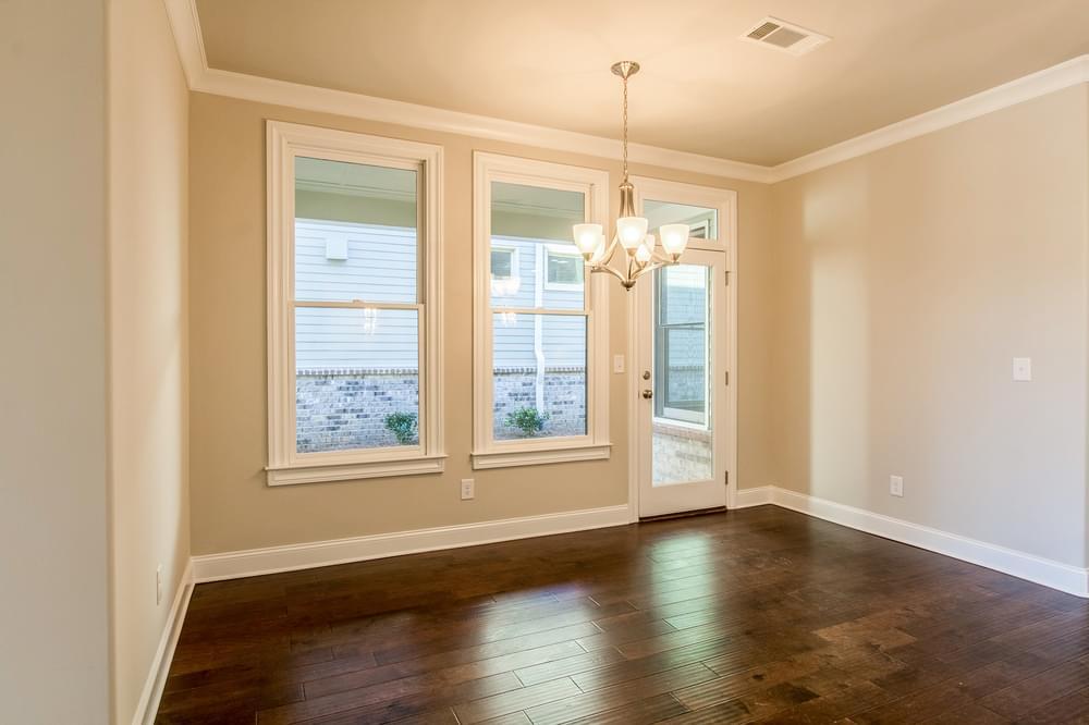 Kentmere Home Design Breakfast Room. 4br New Home in Johns Creek, GA