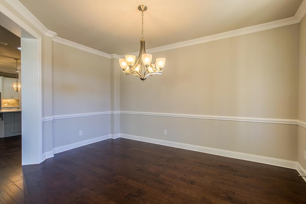 Kentmere Home Design Dining Room. 2,581sf New Home in Johns Creek, GA