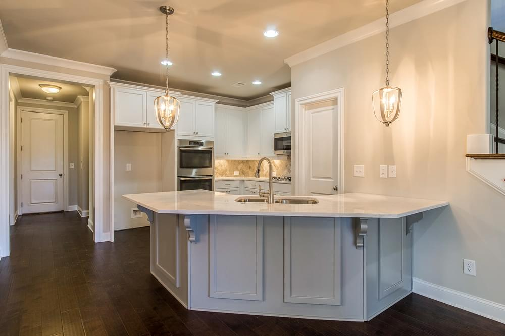 Kentmere Home Design Kitchen. The Kentmere New Home in Johns Creek, GA