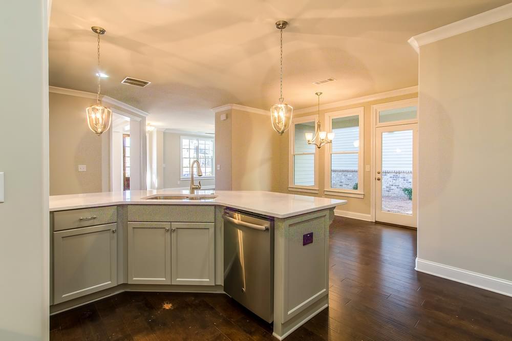 Kentmere Home Design Kitchen. 2,581sf New Home in Johns Creek, GA