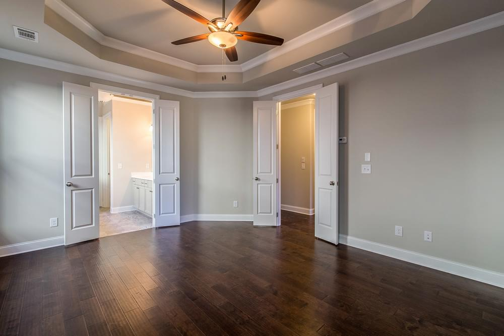 Kentmere Home Design Owner's Suite. The Kentmere New Home in Johns Creek, GA
