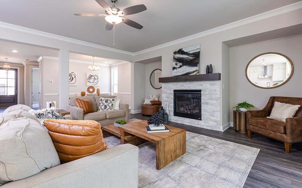 The Mansfield New Home in Suwanee, GA